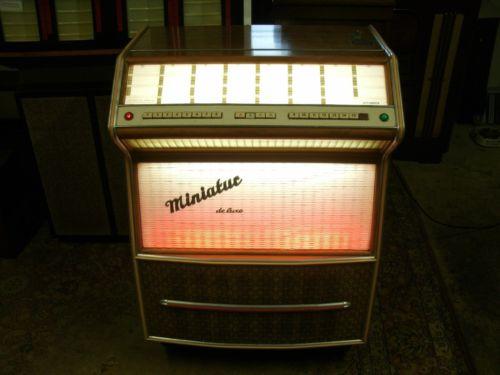 Kühlschrank Jukebox : ᐅ jukebox musikbox musiktruhe miniatur de luxe von hemauer kg