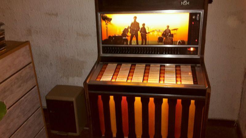 Kühlschrank Jukebox : ᐅ musikbox jukebox nsm prestige