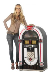Ricatech RR2000 XXL Classic LED Jukebox (CD-Player, Radio, MP3, USB, SD-Kartenslot, Audio, Remote Control) - 6