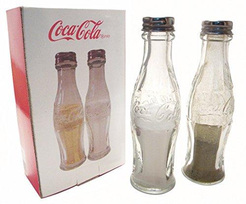 Retro Kühlschrank Cola : ᐅ retro coca cola flaschen salz pfefferstreuer aus glas