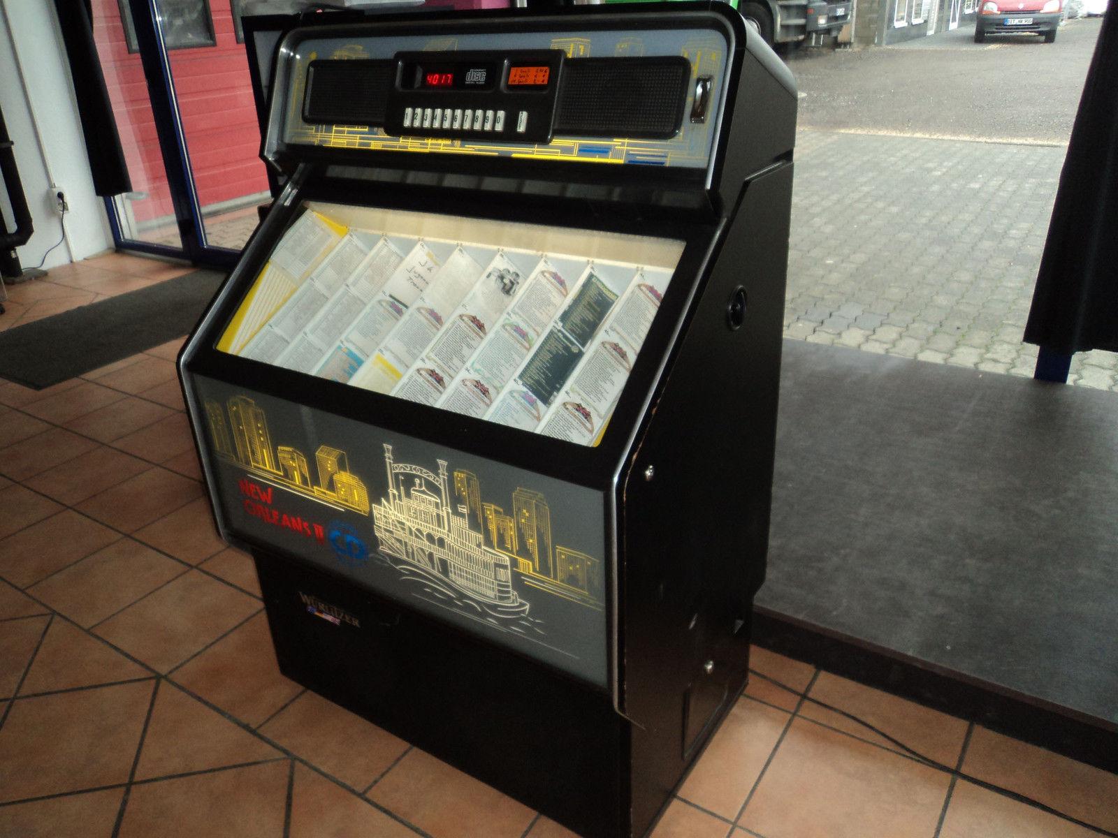 Kühlschrank Jukebox : ᐅ wurlitzer jukebox musikbox modell cdm i sehr selten mit