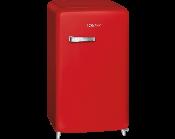 Kühlschrank Rot : ᐅ pkm retro kühlschrank ksr 86.4 rot