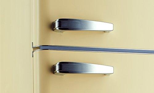 Kühlschrank Creme : ᐅ kühlschrank kühl gefr kombi retro kg creme glänzend a
