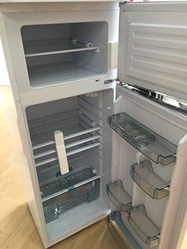 five5cents g215w k hlgefrierkombination wei gl nzend retro k hlschrank k hl. Black Bedroom Furniture Sets. Home Design Ideas